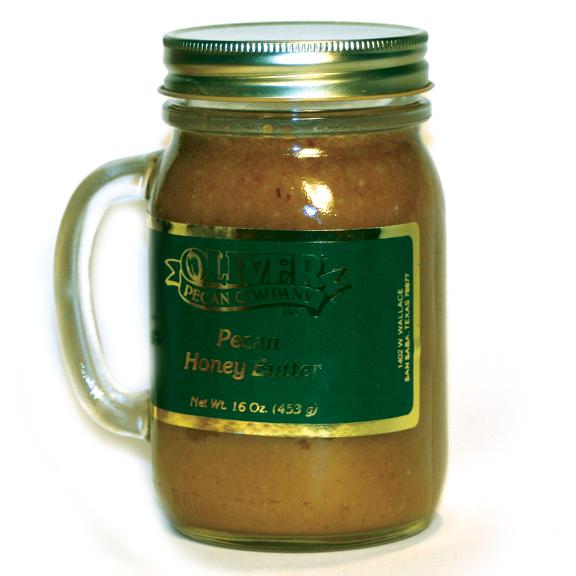 16 oz. Mug Jar Pecan Honey Butter